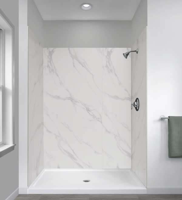Jetcoat® 48″ x 34″ Five Panel Shower Wall System
