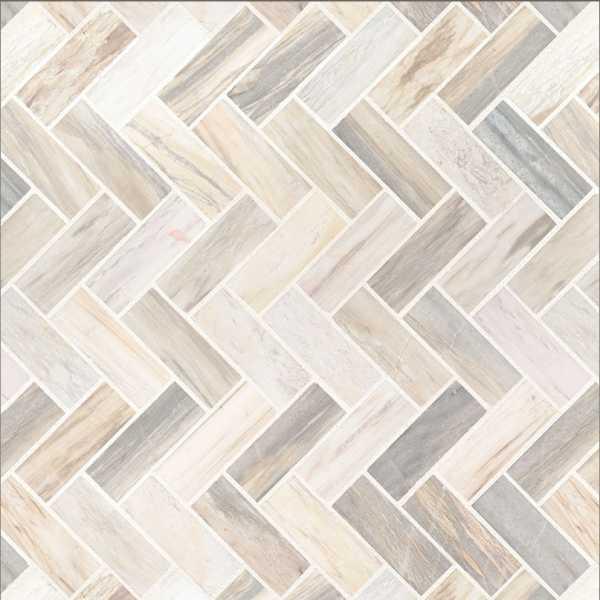 Angora Herringbone tile